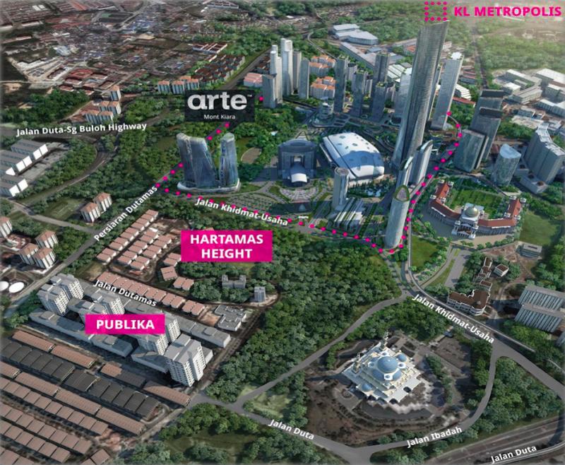 Arte Mont Kiara New Launch Property Malaysia