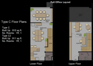Type C floor Plan Office