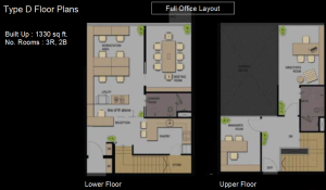 Type D floor Plan Office