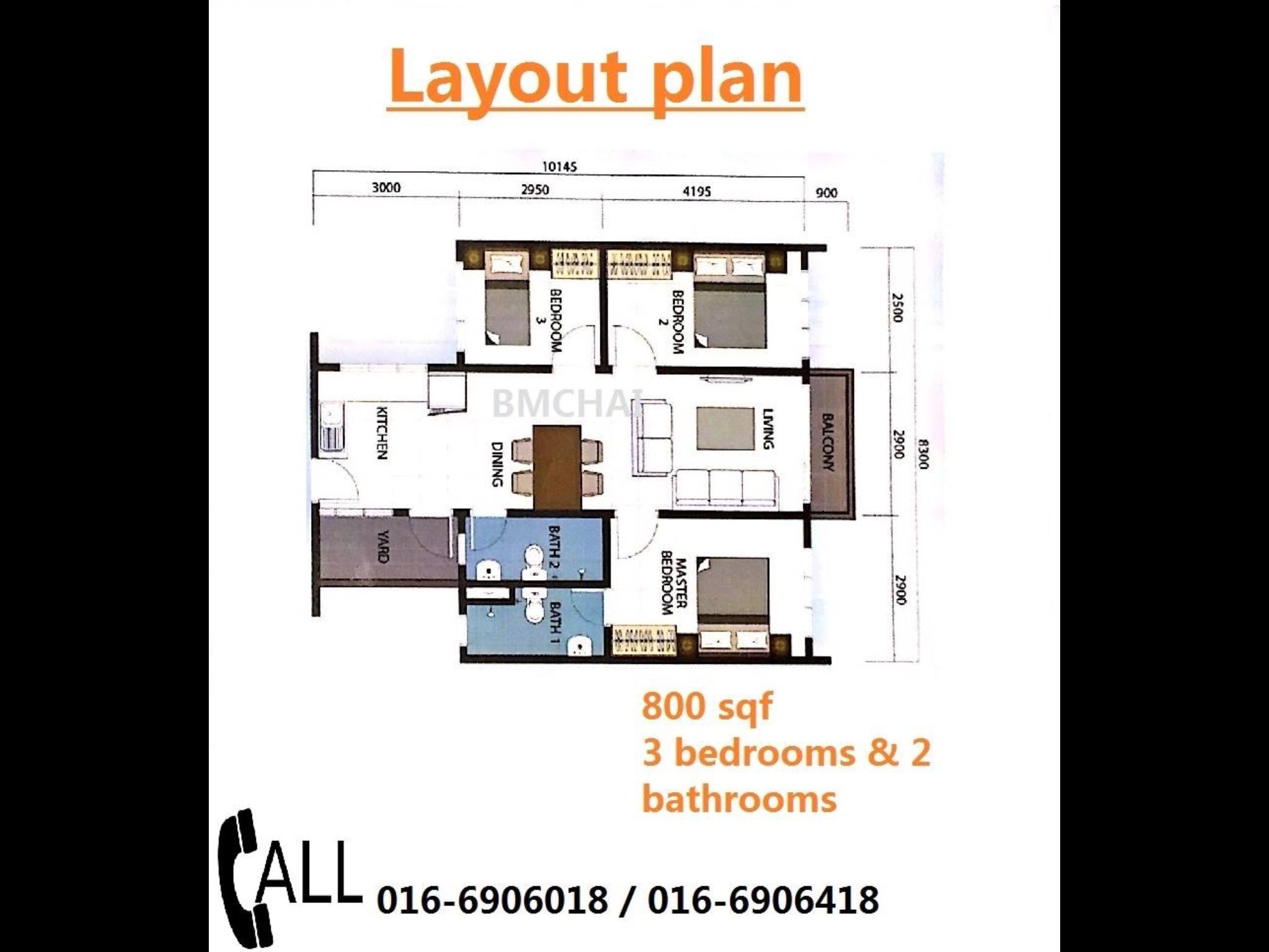 Most affordable property in KL Kepong